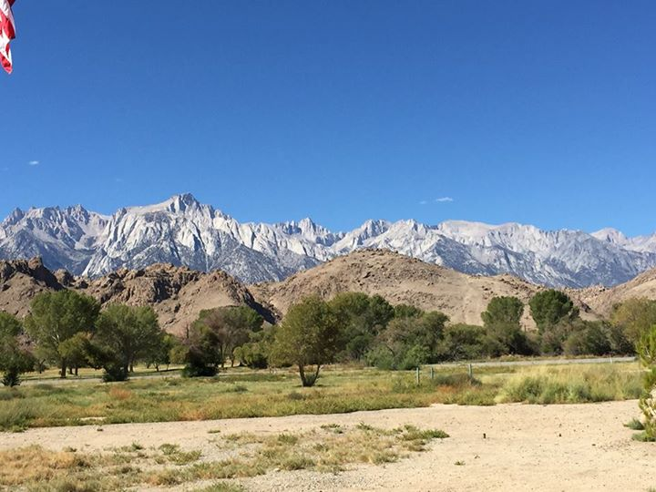 Mt. Whitney from the Visitor Center
