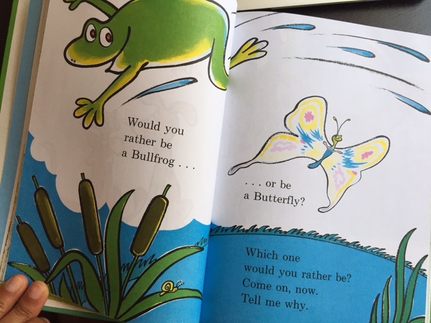 Dr Seuss: Would you rather be?
