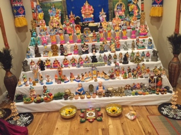 The Navarathri Golu at my Friend's place