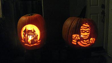 The Neighbor's Pumpkins