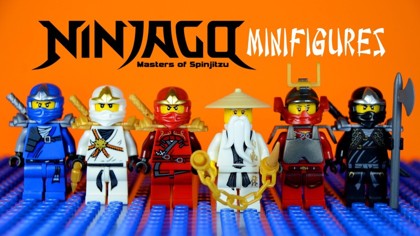 Lego Ninjago Action Figures (Image from Google search)