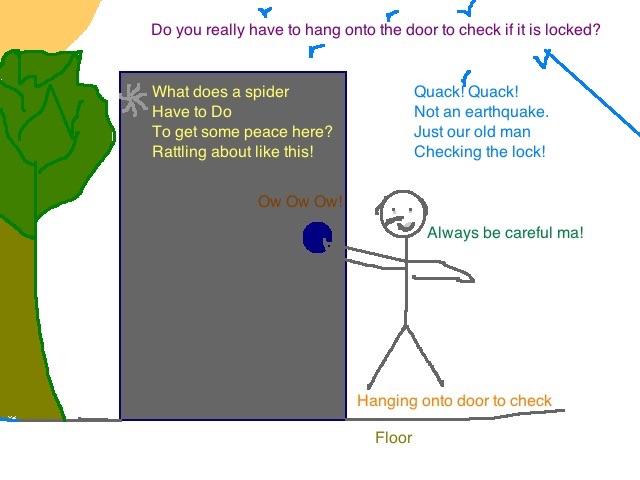 Checking_the_door